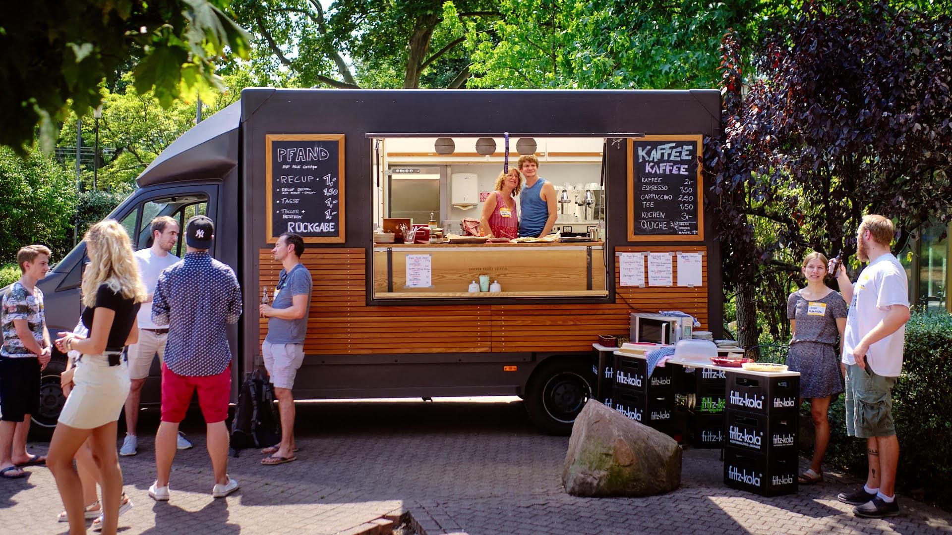 Der KaffeeKaffee Truck in Heidelberg